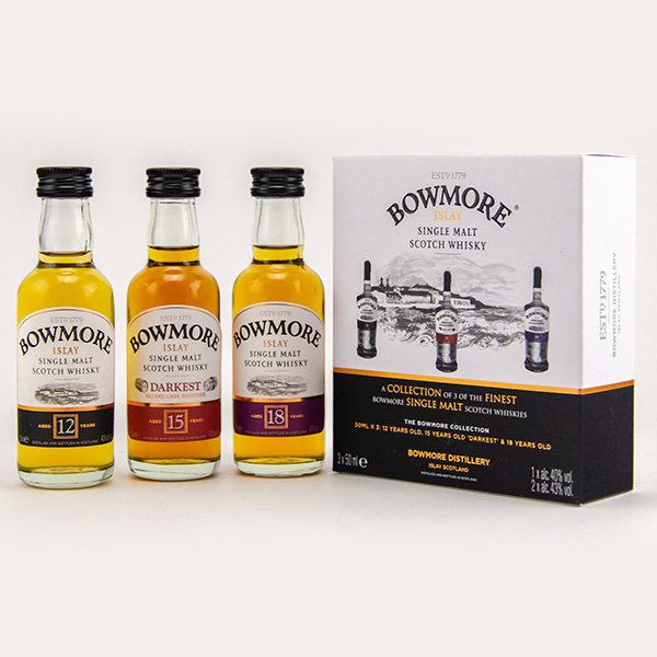 Bowmore Distillers Collection Miniature Set