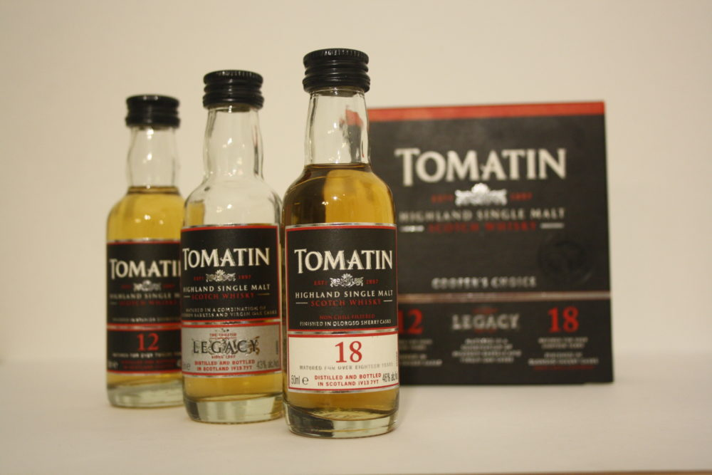 Tomatin Coopers Choice Triple Set